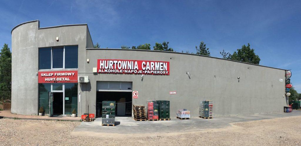 Hurtownia Centrala Carmen - Słodków Kolonia 56H, 62-700 Turek, tel. 695 015 600, e-mail: carmen-hurt02@wp.pl , www.carmen.turek.pl